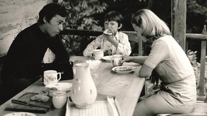 Tomáš Holý ve filmu.